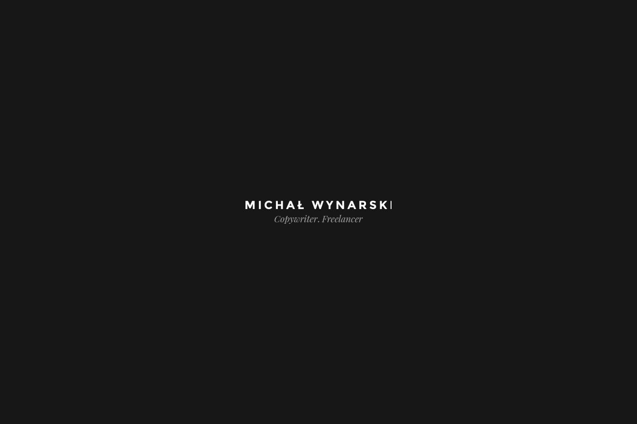 michal_wynarski